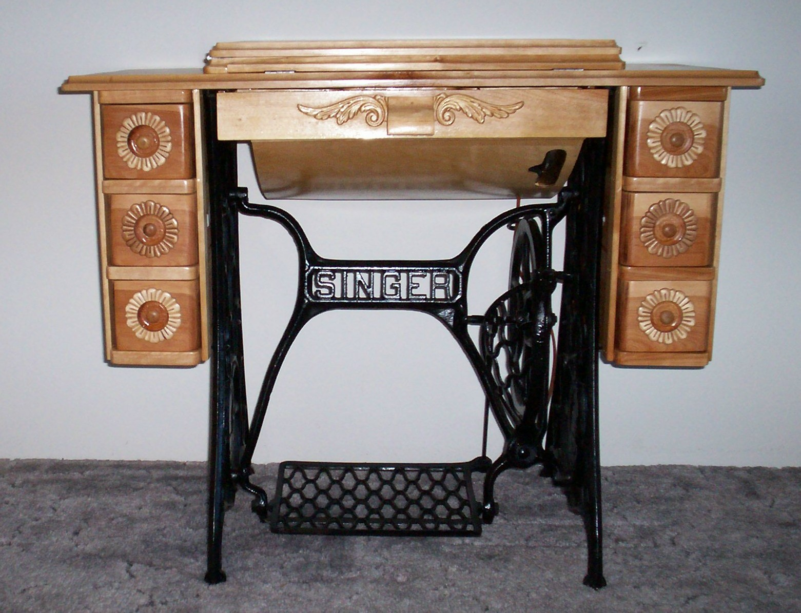 Treadle Sewing Machine Cabinet Plans Plans Free Download « cheap66fhz
