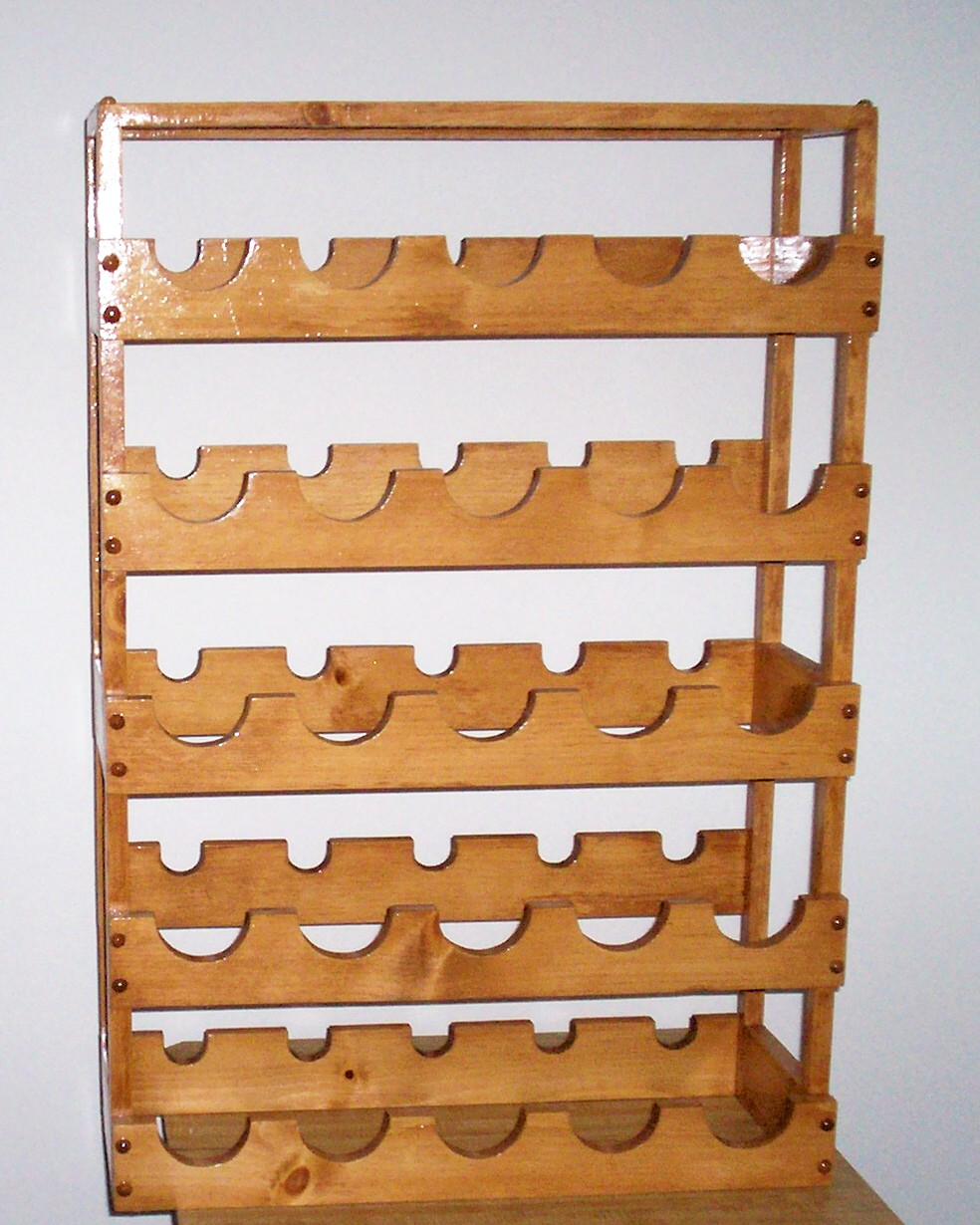 Plans to build bottle wine rack pdf